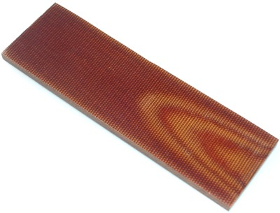 Coppia placchette Micarta Canvas Brown