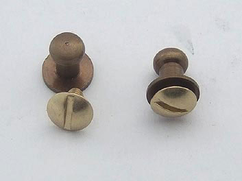 Rifle button antique
